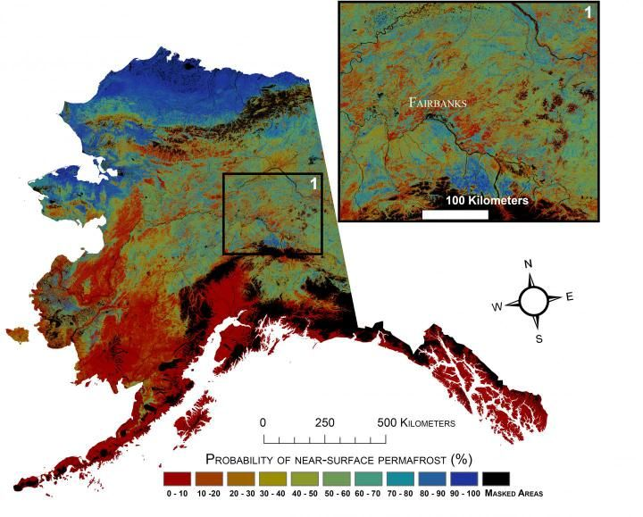 USGS projects large loss of Alaska permafrost by 2100 Anthony Watts / December 1, 2015 From the UNITED STATES GEOLOGICAL SURVEY