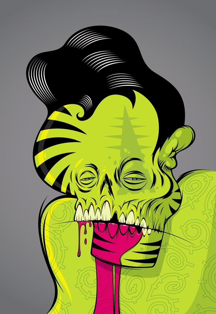 TREVOR PAUL 'Too Much Magenta' found on ididthatad.com