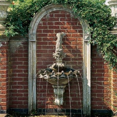 Wall Mounted Shell Fountain | Beyond The Veranda
