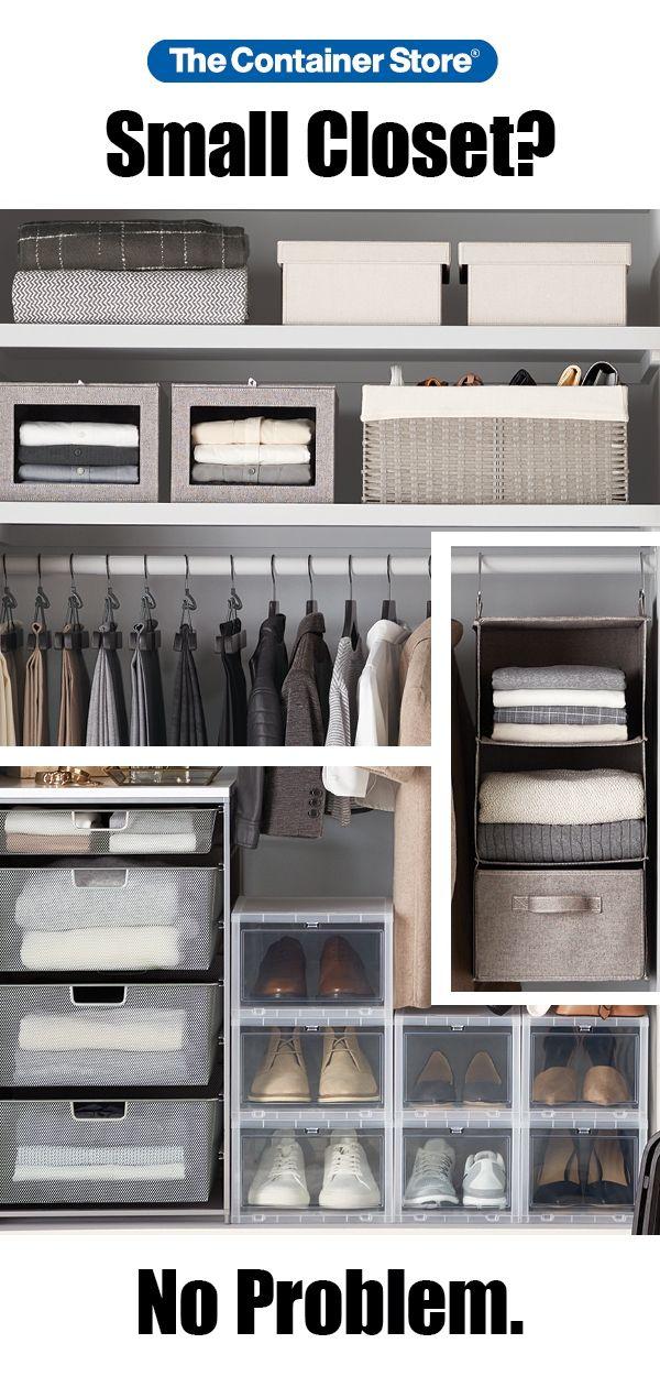 Beau Closet Organizer Kits, Shoe Storage Bundles U0026 Closet Storage Kits