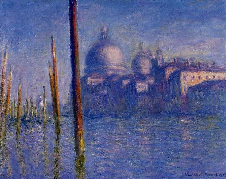 Клод Моне. Большой канал в Венеции 1908