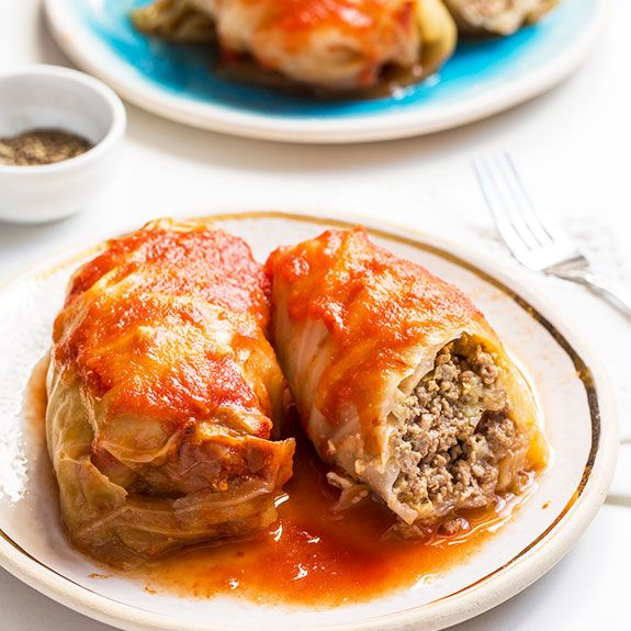 If you grew up in a Polish household, you're probably very familiar with cabbage rolls. They're actually a pretty traditional food all over Europe and into the Middle East. I love them because they're warm and filling and remind me of burritos, but they are Paleo-friendly, especially when you...