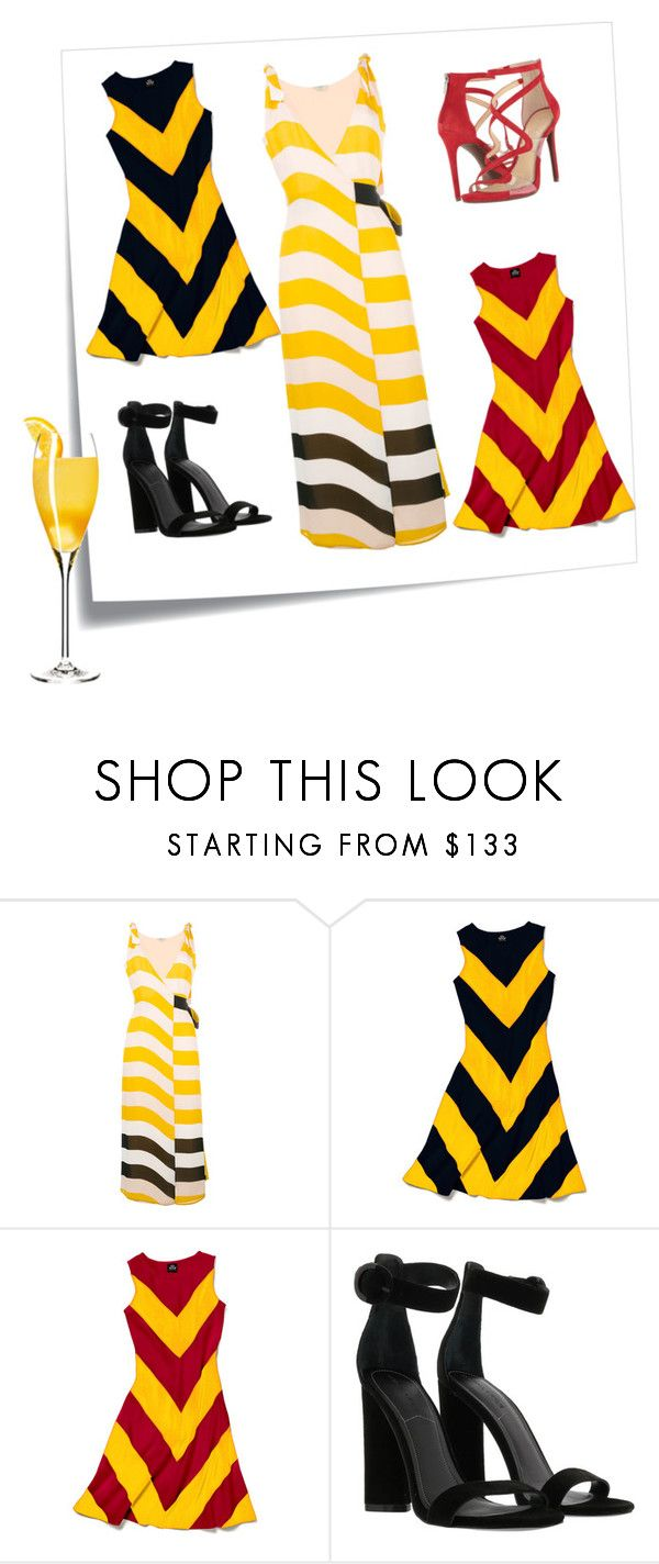 """sunny yellow"" by puljarevic ❤ liked on Polyvore featuring Post-It, Fendi, Slater Zorn, Kendall + Kylie, Jessica Simpson, yellow, summerstyle and sunny"