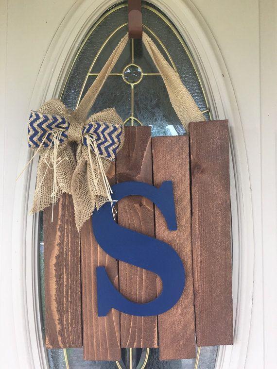30 Beautiful Front Door Monogram Decorating Ideas Page 29 Of 32 Decor Buddha Front Door Monogram Monogram Door Decor Door Monogram