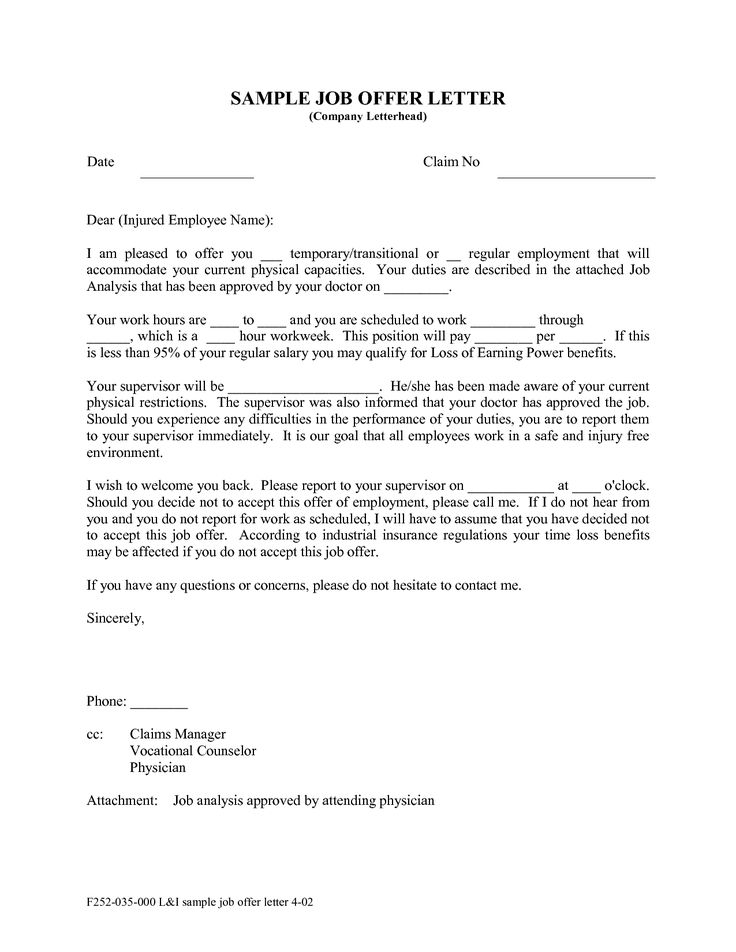 10 best Legally Managing Employees images on Pinterest Sample - employment rejection letter