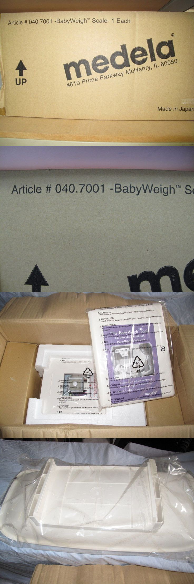 Other Baby 1261: Medela Baby Weigh Scale -> BUY IT NOW ONLY: $595 on eBay!