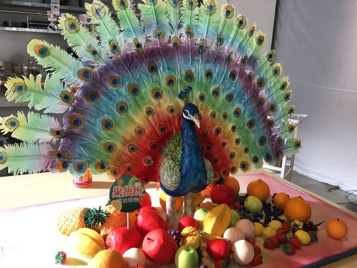 Your Majesty — #cake#fondant#fondantcakes#yourmajesty#peacock