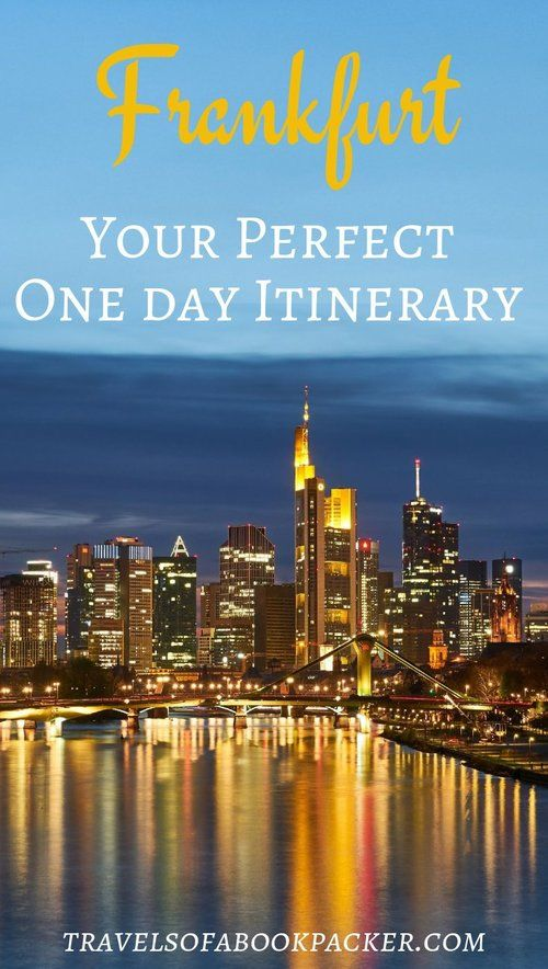 Never heard of any attractions worth visiting in Frankfurt, Germany? Here are some great things to do and see during your layover or after your meeting in Frankfurt. #frankfurt #layover #skyline #mainhatten