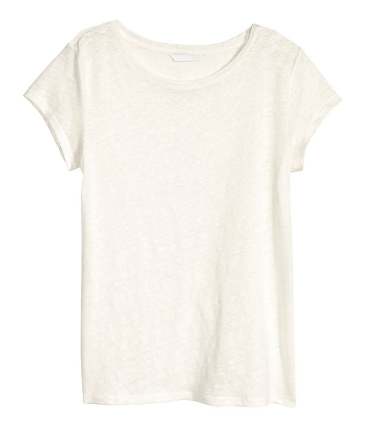 Linen Tshirt | H&M US