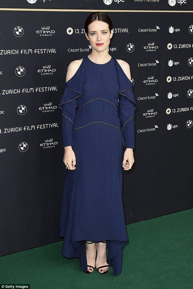Claire Foy is a picture of elegance at Breathe premiere on October 6 2017 in Zurich Switzerland