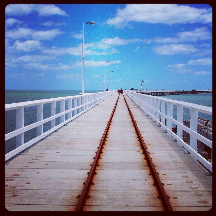 Beautiful Busselton jetty, Western Australia.