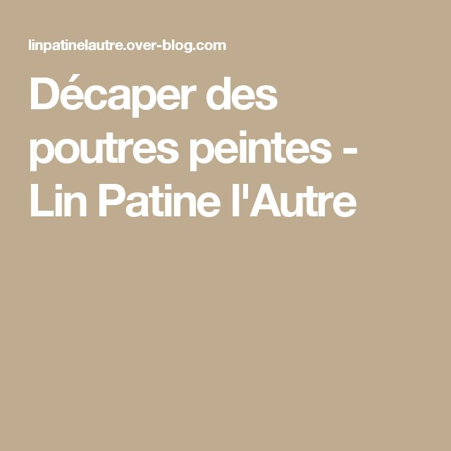 les 25 meilleures id es de la cat gorie poutres peintes sur pinterest planchers en bois fonc. Black Bedroom Furniture Sets. Home Design Ideas