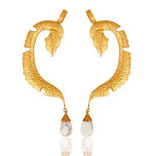 DENDRITIC OPAL EAR CUFF Artwork