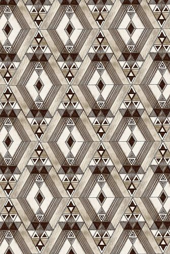 Retro diamond pattern