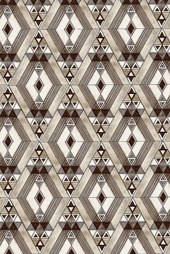 Retro diamond pattern