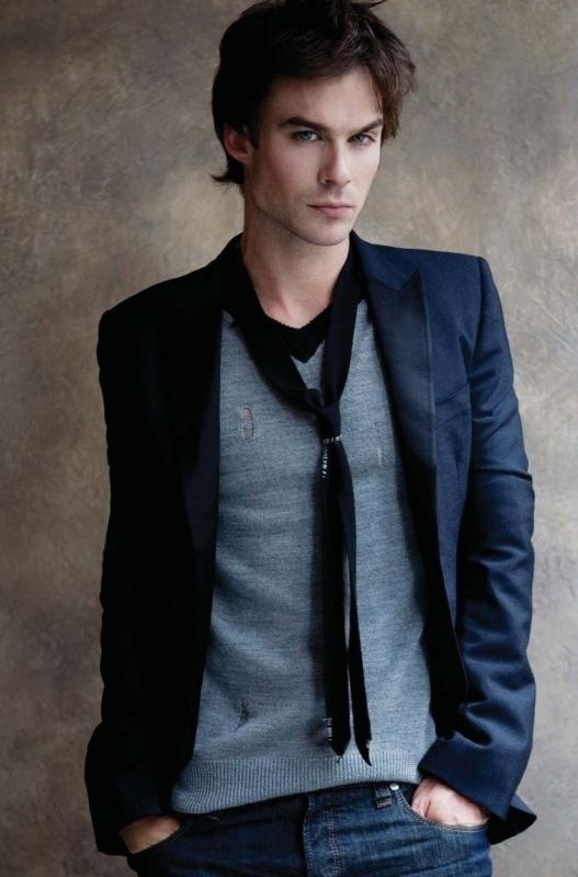 Ian Somerholder ...I VOTE FOR HIM TO PLAY CHRISTIAN GREY!! @Jannelle Fitzwater :)