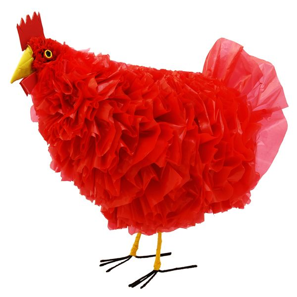 recycled plastic bag chicken