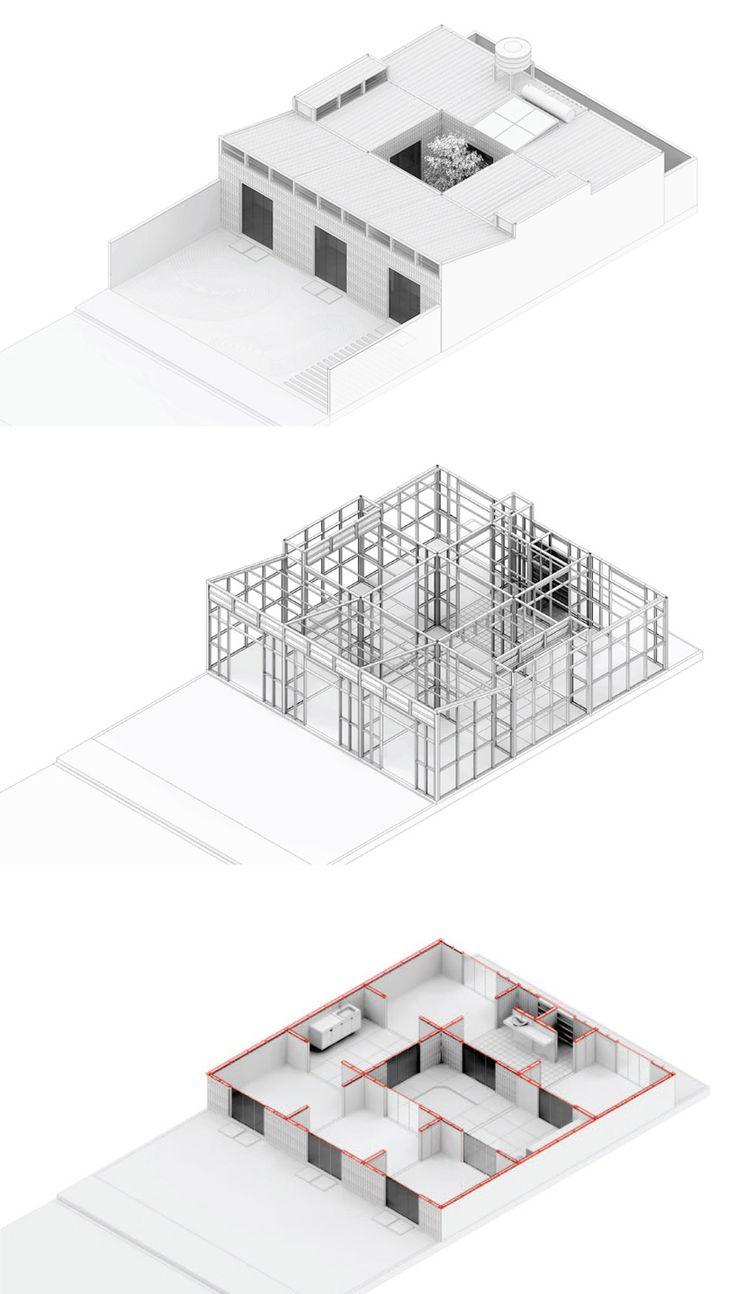 206 besten architekturzeichnungen bilder auf pinterest for Klassische architektur