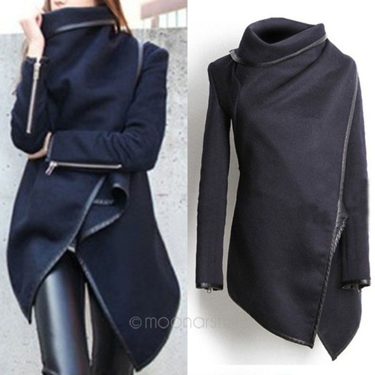 Find More Wool & Blends Information about New Women Coat Asymmetric PU Piping Zipper Pockets Fashion Slim Wool Trench Winter Coat Casacos Femininos S XL Y10*E1449#M5,High Quality trench coat belt,China trench coat for women Suppliers, Cheap trench coat dress from LoveQ Mall on Aliexpress.com