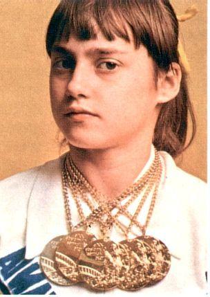nadia comaneci le 12 novembre 1961 naissait nadia comaneci qui en 1976 gagnait aux jeux