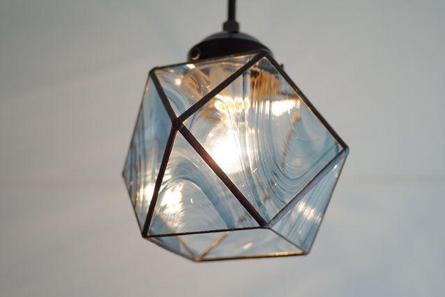 ステンドグラス、ランプ L3
