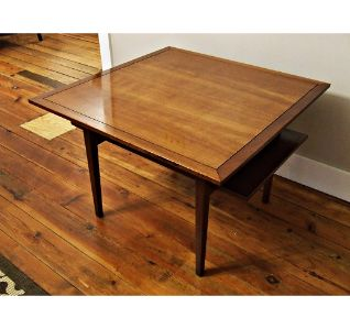 Mid Century Drexel Counterpoint Cocktail Table Dirty