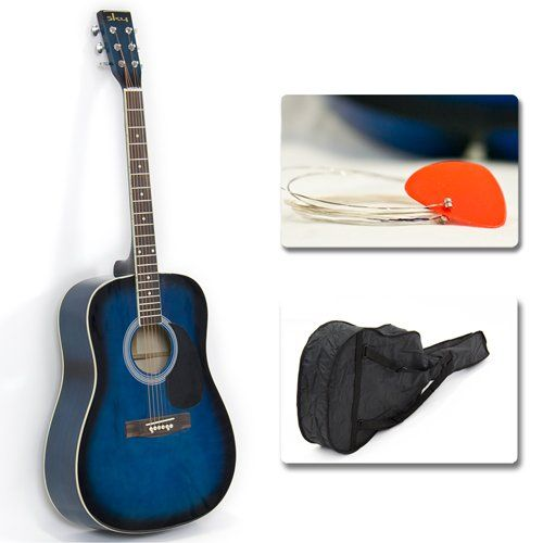 Full 41″ Acoustic Guitar with Guitar Case & More Accessories Combo Kit Guitar Blue Reviews http://www.guitarhomes.com/full-41-acoustic-guitar-with-guitar-case-more-accessories-combo-kit-guitar-blue-reviews-3/