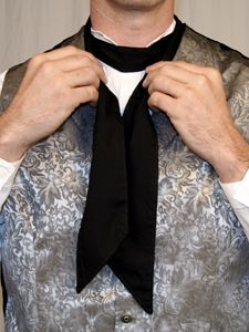 victorian cravat