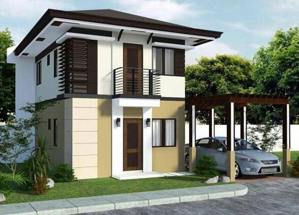 Small Home Design Exterior Arsitektur Rumah Eksterior