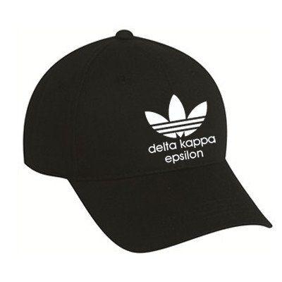 Delta Kappa Epsilon Adidas Custom Printed 5 Panel Hat - Port and Company CP86 - CAD