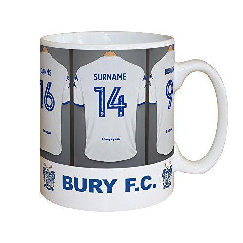 Official Personalised Blackpool FC Dressing Room Mug