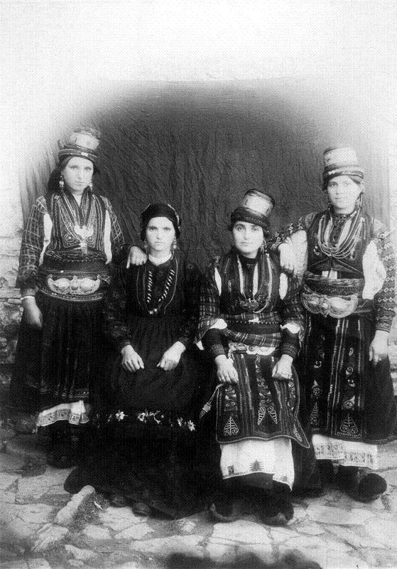 Arvanitovlas és Samarinia, a 20. század elején, (Manakia Brothers), Koukoudis 4, 316