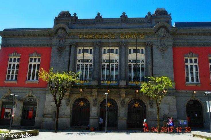 Theatro Circo en Braga, Portugal.