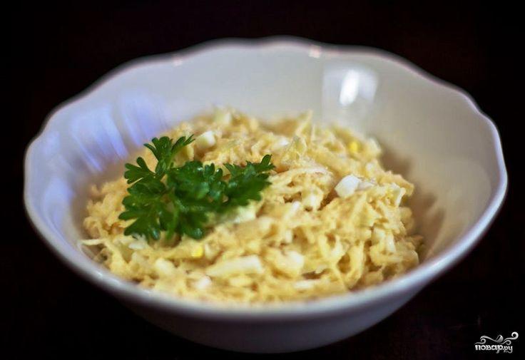 Если не знаете, что приготовить из корня сельдерея - рекомендую салат из сельдерея с яблоками и яйцами. Это - очень простой в приготовлении, но вкусный и полезный салат. Вам наверняка понравится.