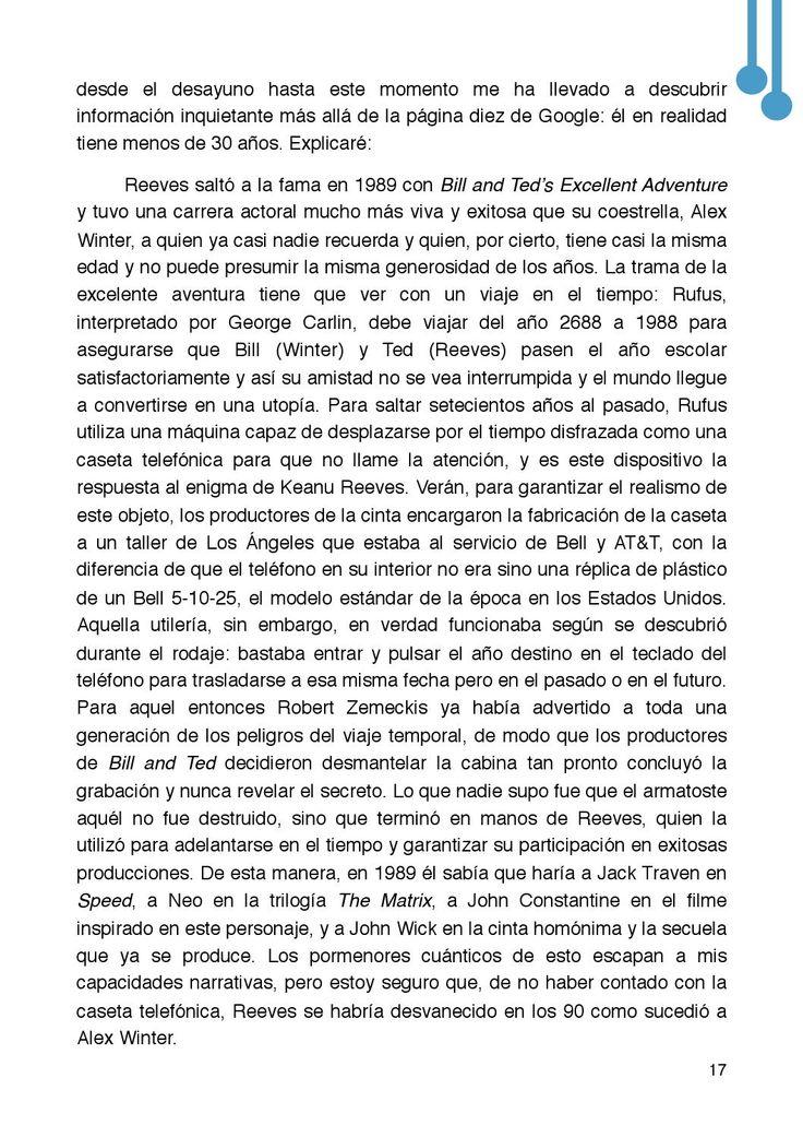 Revista Letras Raras, diciembre 2015  Revista Letras Raras, diciembre 2015. Revista literaria. Una publicación de Editorial Sad Face. Año 4, número 9. http://issuu.com/letrasraras/docs/letrasraras_dic15/17
