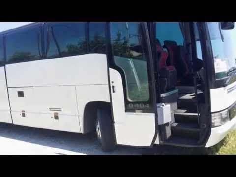 Επισκευη και αλλαγη υφασματος καθισματος λεωφορειου - YouTube