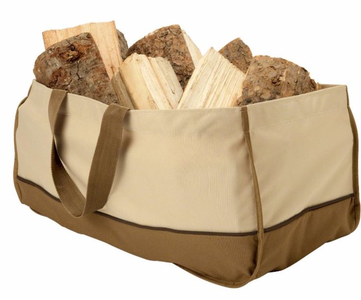 firewood carrier holder basket log tote waterproof fire pit wood bundle bag - Firewood Carrier