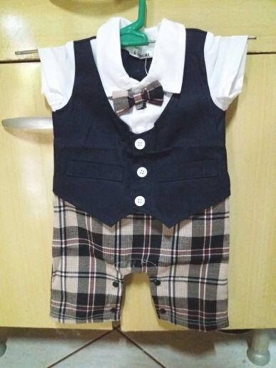 0886899e5 Best Gentleman Baby Rompers Baby Pajamas