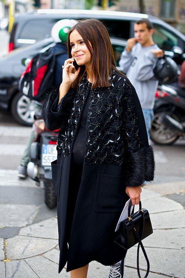 Неделя моды в Милане S/S 2015: street style. Часть II (фото 2)