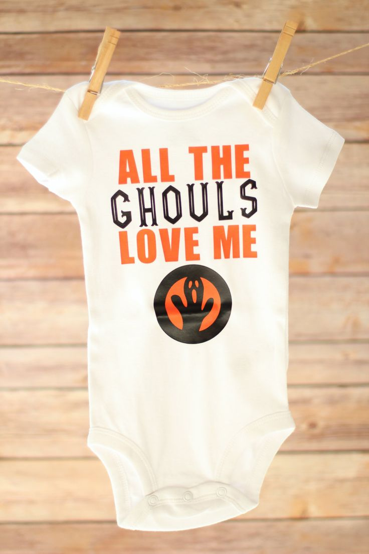 All the Ghouls Love Me, Halloween Baby Boy, Boy Halloween Shirt, Toddler Halloween Outfit, First Halloween Shirt, Funny Halloween Baby Shirt - pinned by pin4etsy.com