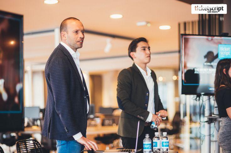 Dan Spicer on 'Unlocking the power of social media.' #eventtalks #eventprofs #eventmarketing