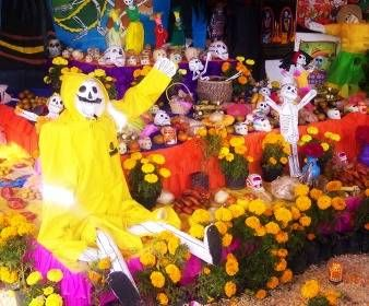 El Dia Los Muertos - Free Online Quizzes,Games and teaching resources about Mexican Day of The Dead. Image credit: wikimedia commons