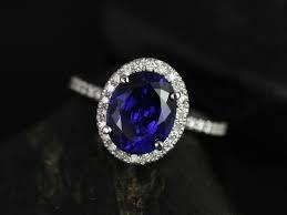 """Résultat de recherche d'images pour """"engagement ring sapphire"""""""
