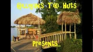 "Gilligan's Tiki Huts at ""Dan's Riverfront Tiki Bar"" Mytle Beach, via YouTube."