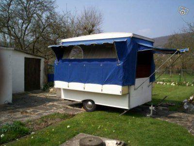 Caravane CASITA occasion - Pliante - 3 places - 1970 - 800 € - Préseau (Nord) WV149958584