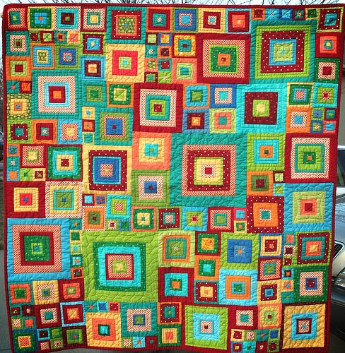 Jewel Squares - love all the color..
