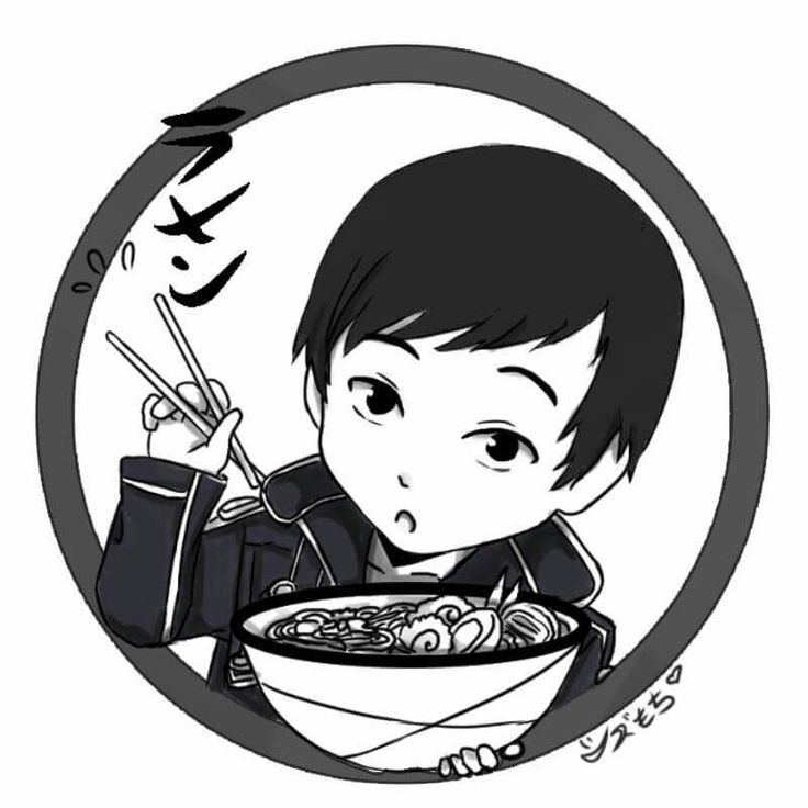 Logo art for SAMA Ramen Night, lol not actually Kirito but a friend who always cosplays as him. #anime #illustration
