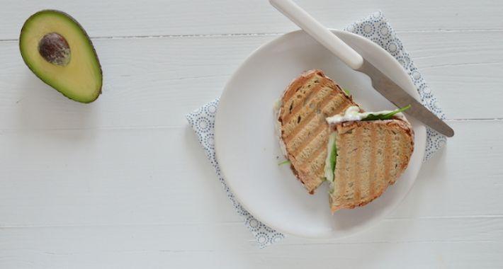Grilled Cheese Sandwich met geitenkaas