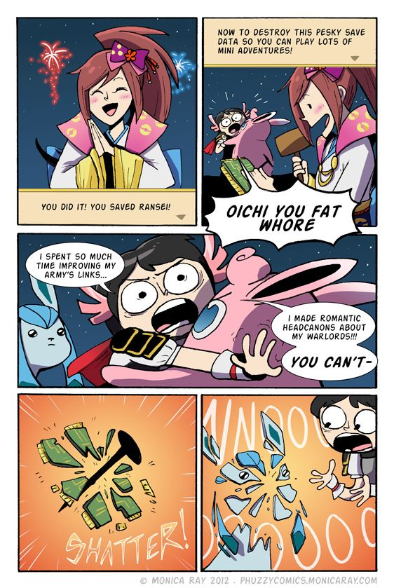 Pokemon conquest by montiray THIS WAS TOTALLY ME <-- Yeah, I was hoping that the player could continue afterwards like other Pokemon games