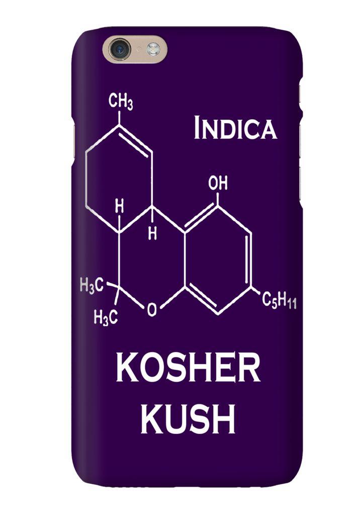 Kosher Kush Indica Strain Weed Marijuana Phone Case